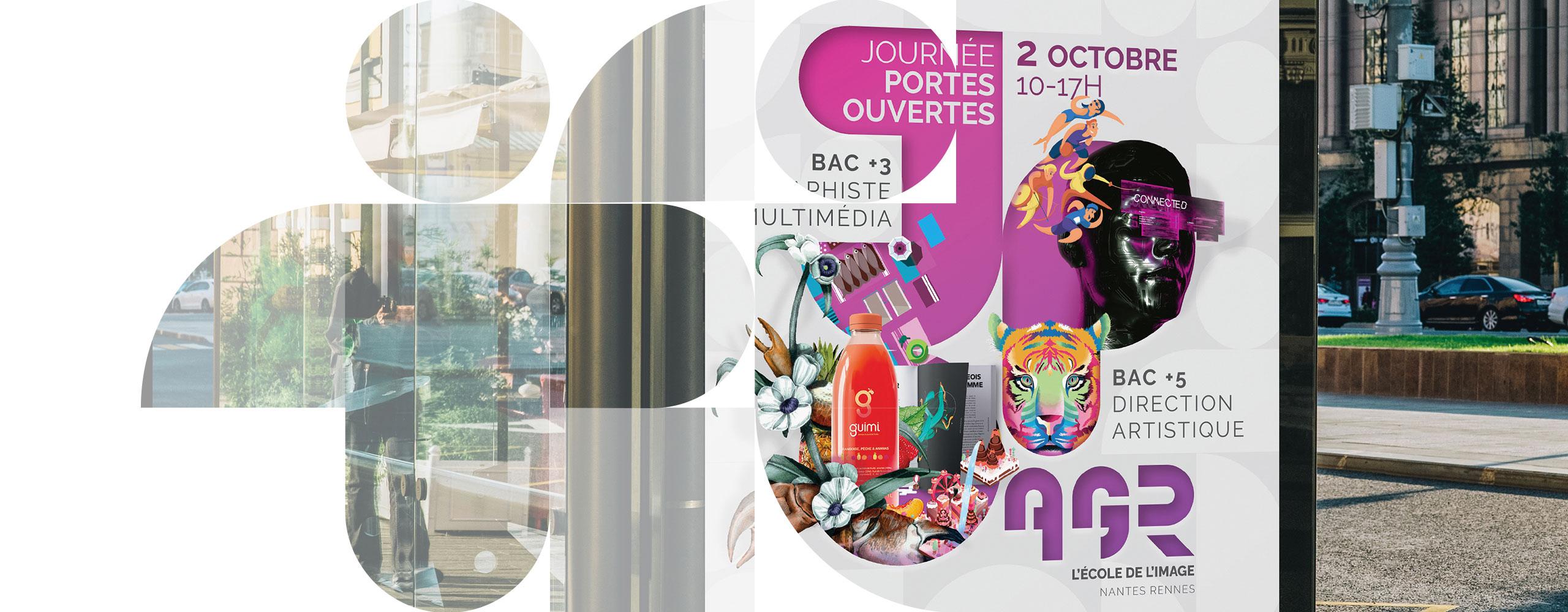 AGR, l'École de l'Image - Journées Portes Ouvertes Samedi 02 Octobre 2021 - Nantes & Rennes