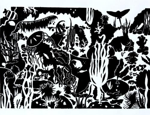 Aplats noir & blanc : Silouhettes